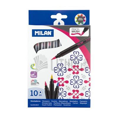 Milan 10色水彩毛筆