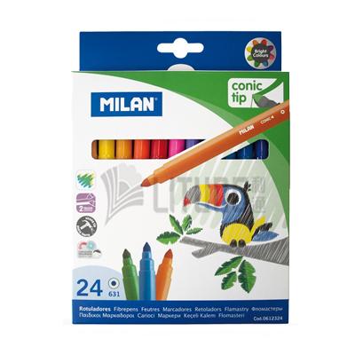 Milan 24色粗水筆