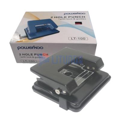 powerkoolLT100BK雙孔打孔機黑色LTLogo400x400
