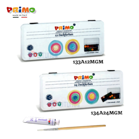Primo 133A12 24 MGM Primo Watercolour Set 12 24 Tablets LTLogo 480x480