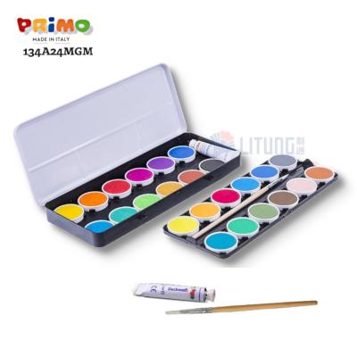 Primo 134A24MGM Watercolour Set 24 Tablets open Box RA LTLogo 400x400