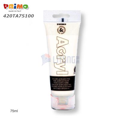 Primo 420TA75100 RA Acrylic Paint 75ml white LTLogo 400x400