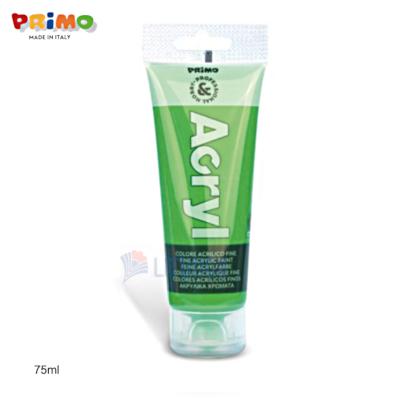 Primo 420TA75610 Fine Acrylic Paint 75ml, Bright Green LTLogo 400x400