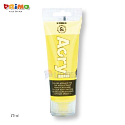 Primo 420TAF75210 Fine Acrylic Paint 75ml, Fluo Yellow LTLogo 400x400