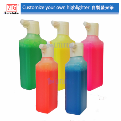 ZIG Web ECF060-004 DIY Higtlighter Set 5 Bottles LTLogo 400x400