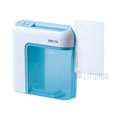 inzoto BOA6X Blue B Shredder Cut Envolpe 雙動能便攜碎紙機 LTLogo 400x400