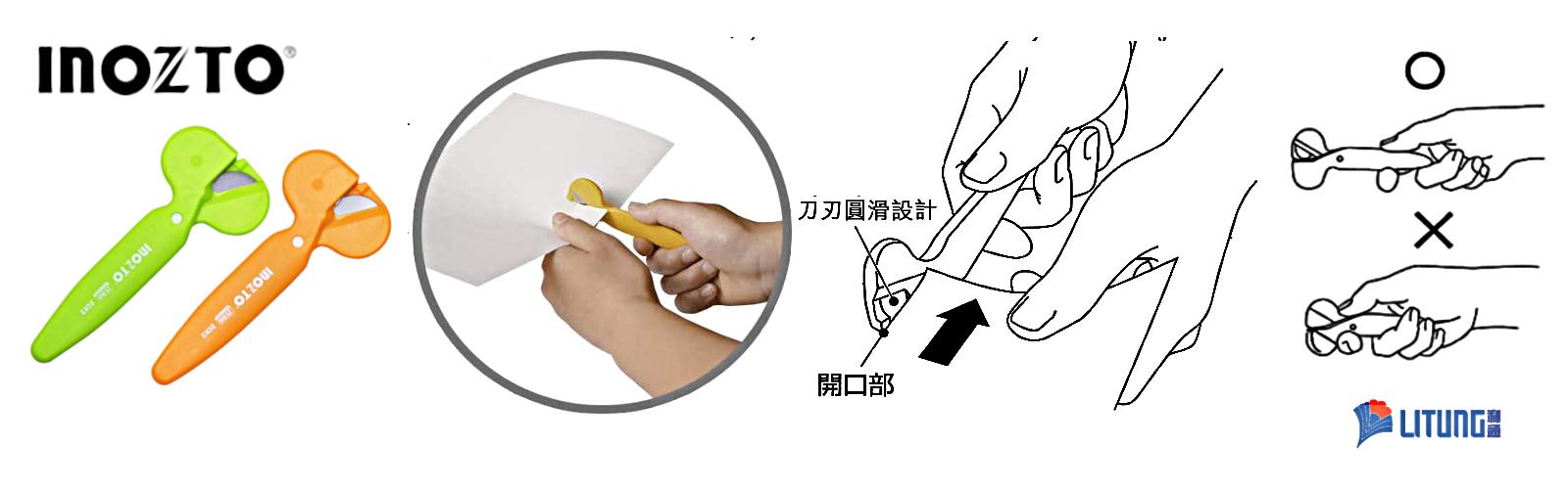 Banner Inozto R1 ZCR2 Grenn Orange Cutters 韓國製滾輪式剪刀 LTLogo 1600x500