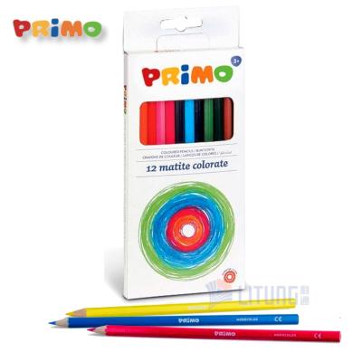 Primo Web A 503MAT12EFSC 12 Colored Pencils set w 3 pencils LTLogo 400x400