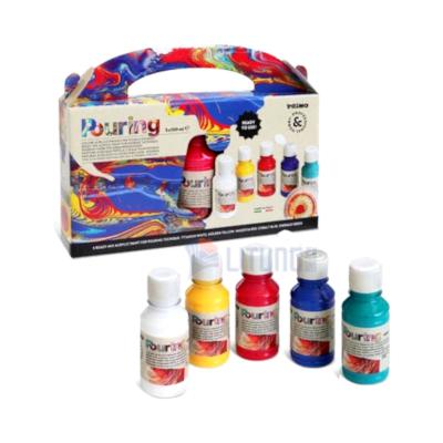 Primo web 4002P5S RMi Acrylic Paint for Pouring w 5 bottles LTLogo 400x400
