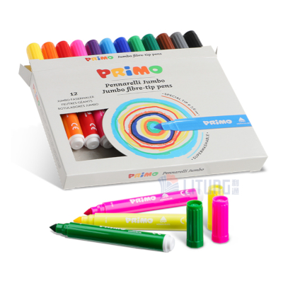 Primo web B 603JUMBO12 Jumbo Fibre Tip Pens set w 3 pens LTLogo 400x400