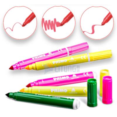 Primo web C 603JUMBO12 Jumbo Fibre Tip Pens 5pens w useages 400x400