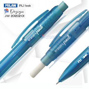 Milan PL1 web C Mechanical pencil Heads LTLogo 400x400.