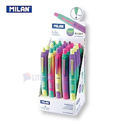 Milan 176568920SN web C 幻彩版藍色原子筆 w Box LTLogo 400x400