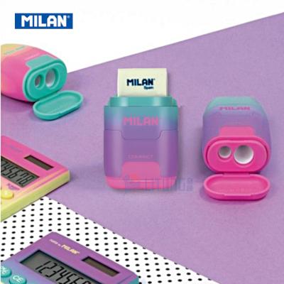 Milan BYM10423 web E 幻彩系列 鉛筆刨+擦膠 Pink Advert Page LTLogo 400x400