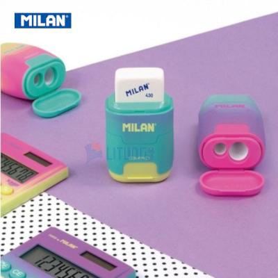 Milan BYM10424 web D 幻彩系列 鉛筆刨+擦膠 yellow Av g LTLogo 400x400