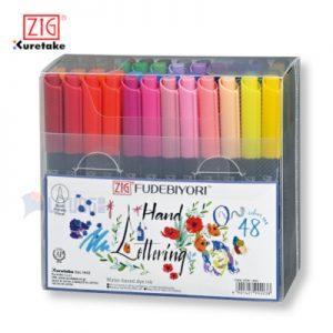 ZIG CBK55N48V web A FUDEBIYORI 日和毛筆48色套裝 LTLogo 400x400